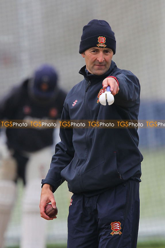 Essex head coach Paul Grayson - Essex CCC vs Middlesex CCC - Friendly Cricket Match at the Essex County Ground, Chelmsford, Essex - 22/03/13 - MANDATORY CREDIT: Gavin Ellis/TGSPHOTO - Self billing applies where appropriate - 0845 094 6026 - contact@tgsphoto.co.uk - NO UNPAID USE.