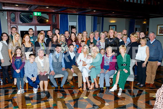 Tralee couple Patrick McCarthy and Aoife Moore, seated centre, Christened their new baby Ryan in St Brendans church, Tralee and celebrated after in the Meadowlands hotel in the town.