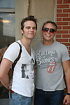 Van Hansis & Billy Magnussen - As The World Turns' shoots its last show on June 23, 2010 at the studios in Brooklyn, New York. (Photo by Sue Coflin/Max Photos)