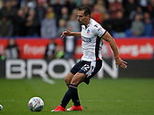 9th September 2017, Macron Stadium, Bolton, England; EFL Championship football, Bolton Wanderers versus Middlesbrough; Filipe Morais of Bolton on the ball