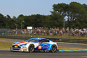 June 14 and 15th 2017,  Le Mans, France; Le man 24 hour race qualification sessions at the Circuit de la Sarthe, Le Mans, France;  #99 BEECHDEAN AMR (GBR) ASTON MARTIN VANTAGE LMGTE AM ANDREW HOWARD (GBR) ROSS GUNN (GBR) OLIVER BRYANT (GBR)