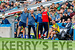 Kerry Selector Tommy Griffin and Kerry Selector James Foley during the All Ireland Senior Football Semi Final between Kerry and Tyrone at Croke Park, Dublin on Sunday.