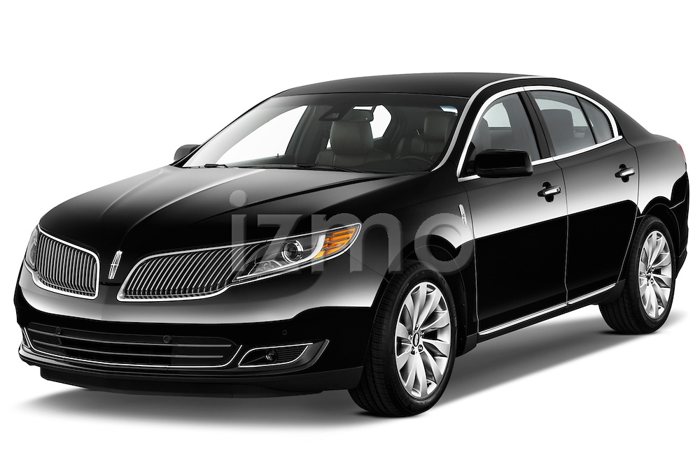 Front three quarter view of a .  2013 Lincoln MKS