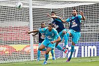 ATENÇÃO EDITOR: FOTO EMBARGADA PARA VEÍCULOS INTERNACIONAIS - SÃO PAULO,SP,06 SETEMBRO 2012 - TREINO SELEÇÃO BRASILEIRA - Sandro (d) durante treino da seleção brasileira na tarde de hoje no estadio Cicero Pompeu de Toledo (Morumbi).FOTO ALE VIANNA - BRAZIL PHOTO PRESS.