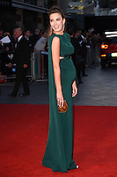 LONDON, UK. October 16, 2016: Elizabeth Chambers at the London Film Festival 2016 premiere of &quot;Free Fire&quot; at the Odeon Leicester Square, London.<br /> Picture: Steve Vas/Featureflash/SilverHub 0208 004 5359/ 07711 972644 Editors@silverhubmedia.com