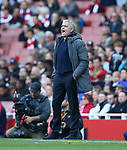 Manchester United's Jose Mourinho <br />looks on dejected during the Premier League match at the Emirates Stadium, London. Picture date: May 7th, 2017. Pic credit should read: David Klein/Sportimage