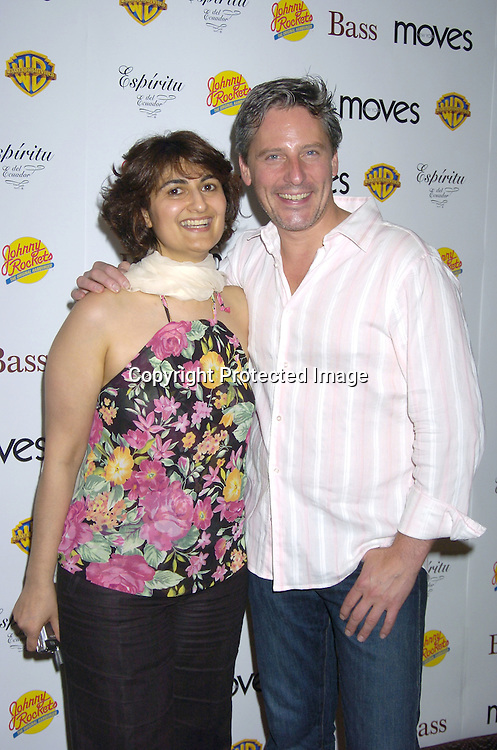 "Publisher of New York Moves Mamoonah Yaqub and Doug Wilson of Trading Spaces..at a screening of ""East of Eden"" hosted by New York Moves Magazine on June 9, 2005 at The Clearview Cinema on Broadway.  New York Moves did ..a fashion layout with soap stars Justin Bruening and Melissa Gallo. ..Photo by Robin Platzer, Twin Images"