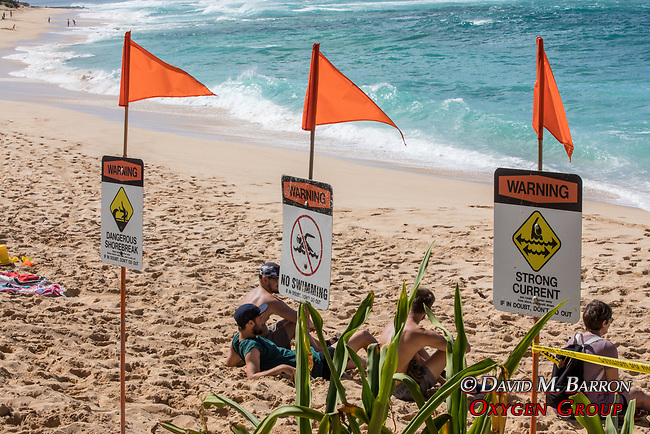 Warning Signs, Sunset Beach