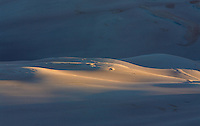 Great Sand Dunes National Park first light.<br /> <br /> Canon EOS 5D, 70-200 f/2.8L lens with 1.4x teleconverter