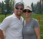 Chris and Chrissy Thorson during the Barracuda Golf Championship at Montreux on Saturday, August 4, 2018.