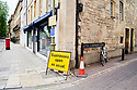 Business as usual sign in Oxford City Centre preparing for the non essential shops reopening on 15/6/20. CREDIT Geraint Lewis