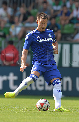 03.08.2014. Bremen, Germany.  Chelsea's John Terry during the soccer friendly match between Werder Bremen and FC Chelsea at Weserstadion in Bremen, Germany.