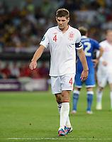 FUSSBALL  EUROPAMEISTERSCHAFT 2012   VIERTELFINALE England - Italien                     24.06.2012 Steven Gerrard (England)