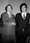 Ellen Burstyn and Al Pacino attend the Theatre Hall Of Fame Awards held on March 28, 1982 at the Uris Theater, now called the Gershwin Theater, New York City.