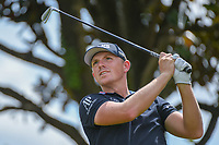 Matthew Wallace (ENG) watches his tee shot on 2 during round 3 of the Arnold Palmer Invitational at Bay Hill Golf Club, Bay Hill, Florida. 3/9/2019.<br /> Picture: Golffile | Ken Murray<br /> <br /> <br /> All photo usage must carry mandatory copyright credit (&copy; Golffile | Ken Murray)
