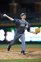 Charlotte 49ers relief pitcher Jonah Patten (36) in action against the Wake Forest Demon Deacons at BB&T BallPark on March 13, 2018 in Charlotte, North Carolina.  The 49ers defeated the Demon Deacons 13-1.  (Brian Westerholt/Four Seam Images)