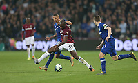 West Ham United's Michail Antonio and Everton's Richarlison<br /> <br /> Photographer Rob Newell/CameraSport<br /> <br /> The Premier League - West Ham United v Everton - Saturday 30th March 2019 - London Stadium - London<br /> <br /> World Copyright © 2019 CameraSport. All rights reserved. 43 Linden Ave. Countesthorpe. Leicester. England. LE8 5PG - Tel: +44 (0) 116 277 4147 - admin@camerasport.com - www.camerasport.com