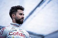 Nacer Bouhanni (FRA/Cofidis) pre race. <br /> <br /> ©kramon<br /> 71st Kuurne-Brussel-Kuurne (2019)<br /> Kuurne > Kuurne 201km (BEL)<br /> <br /> ©kramon