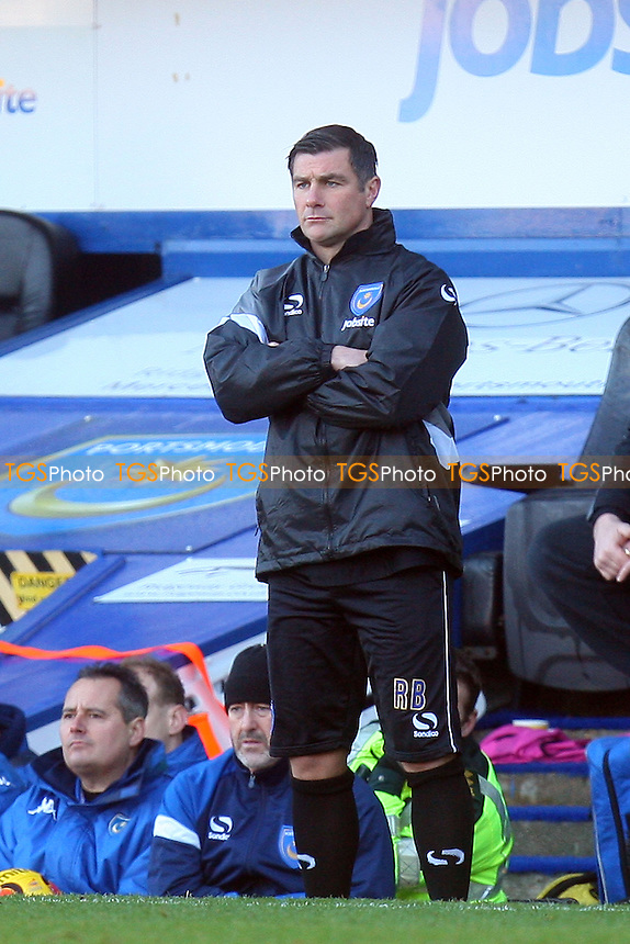 Portsmouth manager Richie Barker - Portsmouth vs Dagenham and Redbridge, Sky Bet Football League football at the Fratton Park Stadium - 26/12/13 - MANDATORY CREDIT: Dave Simpson/TGSPHOTO - Self billing applies where appropriate - 0845 094 6026 - contact@tgsphoto.co.uk - NO UNPAID USE