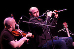 Michael McGoldrick, John McCusker and John Doyle play at the Queens Hall, Edinburgh 12 March 2015. © Photo by Tina Norris 07775 593 830 All repros payable. No unauthorised use including web use.