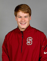 STANFORD, CA - January 6, 2014: Stanford Track and Field athlete portrait.