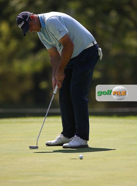 Mark Williams (ZIM) misses birdie on the 17th during Round Three of the Tshwane Open 2015 at the Pretoria Country Club, Waterkloof, Pretoria, South Africa. Picture:  David Lloyd / www.golffile.ie. 14/03/2015