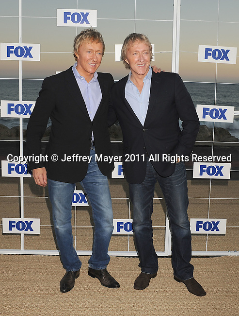 MALIBU, CA - AUGUST 05: Leslie Keno and Leigh Keno attend the Fox All Star Party 2011 at Gladstone's Malibu on August 5, 2011 in Malibu, California.