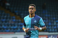 Paris Cowan-Hall of Wycombe Wanderers during the Sky Bet League 2 match between Wycombe Wanderers and Morecambe at Adams Park, High Wycombe, England on 12 November 2016. Photo by David Horn.