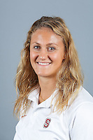 STANFORD, CA-OCTOBER 30, 2014- Ashley Gorssman of the Stanford Women's Water Polo Team 2014-2015.