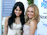 HOLLYWOOD, CA. - September 26: Vanessa Hudgens and Hayden Panettiere arrive at the Neutrogena Fresh Faces of Music Benefiting VH1 Save The Music at Jim Henson Studios on September 26, 2009 in Hollywood, California.
