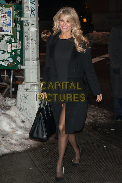 NEW YORK, NY -  FEBRUARY 18: Christie Brinkley attends the Sports Illustrated Swimsuit 50 Years of Swim in NYC Celebration at the Sports Illustrated Swimsuit Beach House on February 18, 2014 in New York City, NY., USA.<br /> CAP/MPI/COR<br /> &copy;Corredor99/ MediaPunch/Capital Pictures
