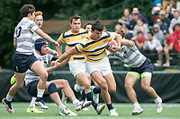 BERKELEY, CA - April 22, 2017: : The Cal Bears Rugby Team played Penn State at Witter Rugby Field in the national semifinals of the Penn Mutual Varsity Cup Rugby Championship.