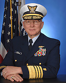 "Admiral Robert J. Papp, Jr. assumed the duties of the 24th Commandant of the U.S. Coast Guard on May 25, 2010. He leads the largest component of the Department of Homeland Security (DHS), comprised of 42,000 active duty, 8,200 Reserve, 8,000 civilian and 31,000 volunteer Auxiliarists.  The Coast Guard is ""Semper Paratus"" – Always Ready – to use its distinctive blend of military, humanitarian and law enforcement capabilities to save lives and property at sea, protect and maintain our ports and maritime transportation system, secure our borders, respond to natural disasters, protect our marine environment and defend our Nation. The Coast Guard is also America's oldest continuous seagoing service and one of the Nation's five armed services. We trace our history back to August 4th, 1790, when the first Congress authorized the construction of ten vessels to enforce tariff and trade laws and to prevent smuggling. Our people are committed to the Coast Guard's core values of Honor, Respect and Devotion to Duty. As a flag officer, Admiral Papp served as Commander, Coast Guard Atlantic Area, where he was operational commander for all U.S. Coast Guard missions within the eastern half of the world and provided support to the Department of Defense; as the Chief of Staff of the Coast Guard and Commanding Officer of Coast Guard Headquarters; as Commander, Ninth Coast Guard District, with responsibilities for Coast Guard missions on the Great Lakes and Northern Border; and as Director of Reserve and Training where he was responsible for managing and supporting 13,000 Coast Guard Ready Reservists and all Coast Guard Training Centers.  Admiral Papp has served in six Coast Guard Cutters, commanding four of them: RED BEECH, PAPAW, FORWARD, and the training barque EAGLE. He also served as commander of a task unit during Operation ABLE MANNER off the coast of Haiti in 1994, enforcing United Nations Sanctions. Additionally, his task unit augmented U.S. Naval Forces during Op"