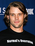 "LOS ANGELES, CA. - January 21: Actor Jesse Spencer arrives at the ""House"" 100th episode party and NAMI charity celebration held at STK on January 21st, 2009 in Los Angeles, California."