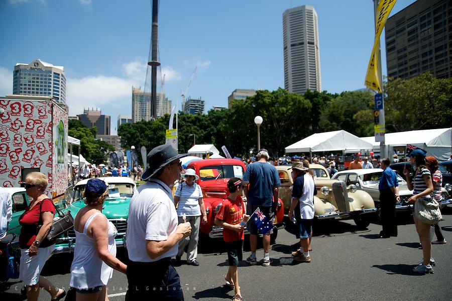 Australia Day 2010, Sydney CBD