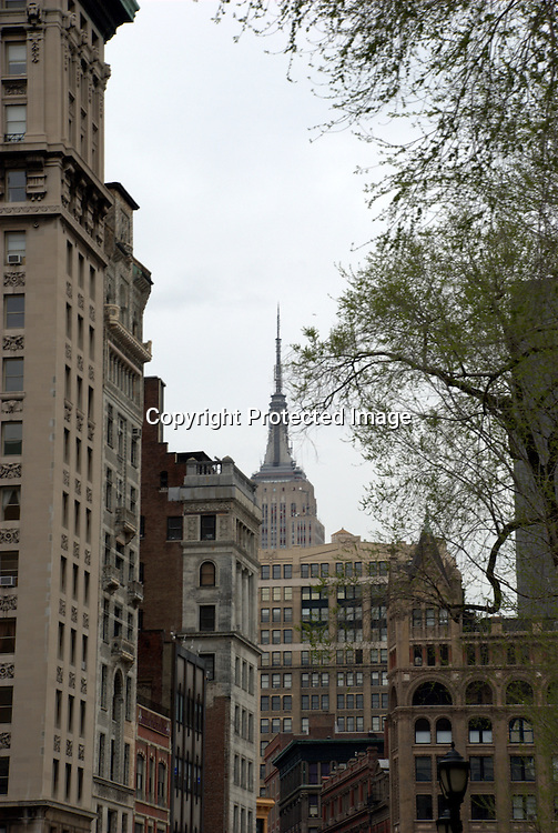 The Empire State Building from Union Square