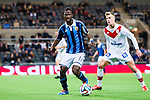Stockholm 2014-03-09 Fotboll Svenska Cupen Djurg&aring;rdens IF - Assyriska FF :  <br /> Djurg&aring;rdens Amadou Jawo i aktion <br /> (Foto: Kenta J&ouml;nsson) Nyckelord:  Djurg&aring;rden