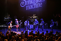 LONDON, ENGLAND - JULY 4: Billy Gibbons, Davy Knowles and Bernie Marsden performing with 'Supersonic Blues Machine' at Shepherd's Bush Empire on July 4, 2018 in London, England.<br /> CAP/MAR<br /> &copy;MAR/Capital Pictures