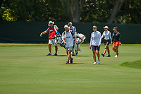 Carlota Ciganda (ESP) leads the pack down 4 during round 3 of the 2019 US Women's Open, Charleston Country Club, Charleston, South Carolina,  USA. 6/1/2019.<br /> Picture: Golffile | Ken Murray<br /> <br /> All photo usage must carry mandatory copyright credit (© Golffile | Ken Murray)