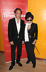 A Conversation with Yoko Ono and interviewer Michael Kimmelman at Times Center on October 15, 2012 in New York City.
