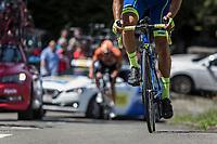 Up the Infamous Mur de Huy.<br /> <br /> Baloise Belgium Tour 2018<br /> Stage 4:  Wanze - Wanze 147.3km