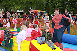 Children enjoying the fun at the Arts Festival in Dominics park.Pic Fran Caffrey/Newsfile.ie