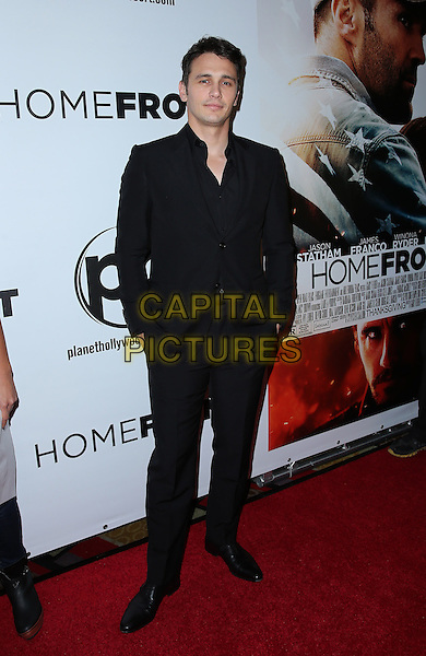 20 November 2013 - Las Vegas, NV -  James Franco. Homefront Las Vegas World Premiere at Planet Hollywood Resort and Casino.<br /> CAP/ADM/MJT<br /> &copy; MJT/AdMedia/Capital Pictures