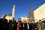 Christmas in Bethlehem, Syrian Orthodox Archbishop Mar Malki Murad in Manger Square