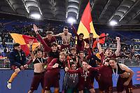 Roma 21-04-2017 Stadio Olimpico Finale Coppa Italia primavera / AS Roma - Virtus Entella foto Image Sport/Insidefoto<br /> nella foto: Roma Esultanza Coppa