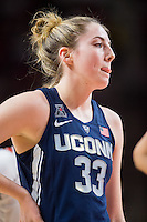 College Park, MD - DEC 29, 2016: Connecticut Huskies guard/forward Katie Lou Samuelson (33) in action during game between No. 1 UConn and the No. 3 Terrapins at the XFINITY Center in College Park, MD. UConn defeated Maryland 87-81. (Photo by Phil Peters/Media Images International)