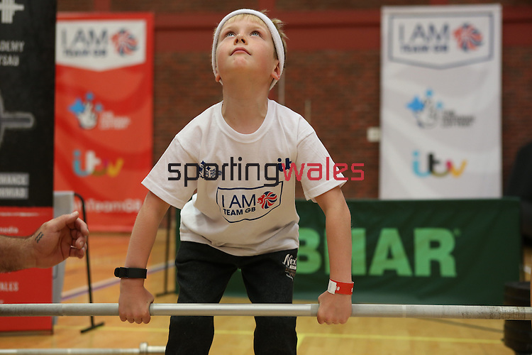 I Am Team GB event in Cardiff sponsored by ITV &  The National Lottery.<br /> 27.08.16<br /> ©Steve Pope Sportingwales