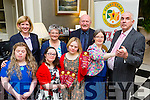 Launching the Kerry Stars ball which will be held on Friday 27th November in the Malton hotel were l-r: Maire Murphy, Emma Doolin, Claire Spillane, Martina McCarthy, Vincent Lacke, back Eimear Corridon, Joan O'Connor and Tom Tobin