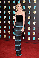 Leslie Bibb<br /> arriving for the BAFTA Film Awards 2018 at the Royal Albert Hall, London<br /> <br /> <br /> ©Ash Knotek  D3381  18/02/2018