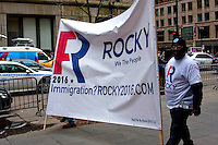 March and rally held in downtown Chicago, Illinois.
